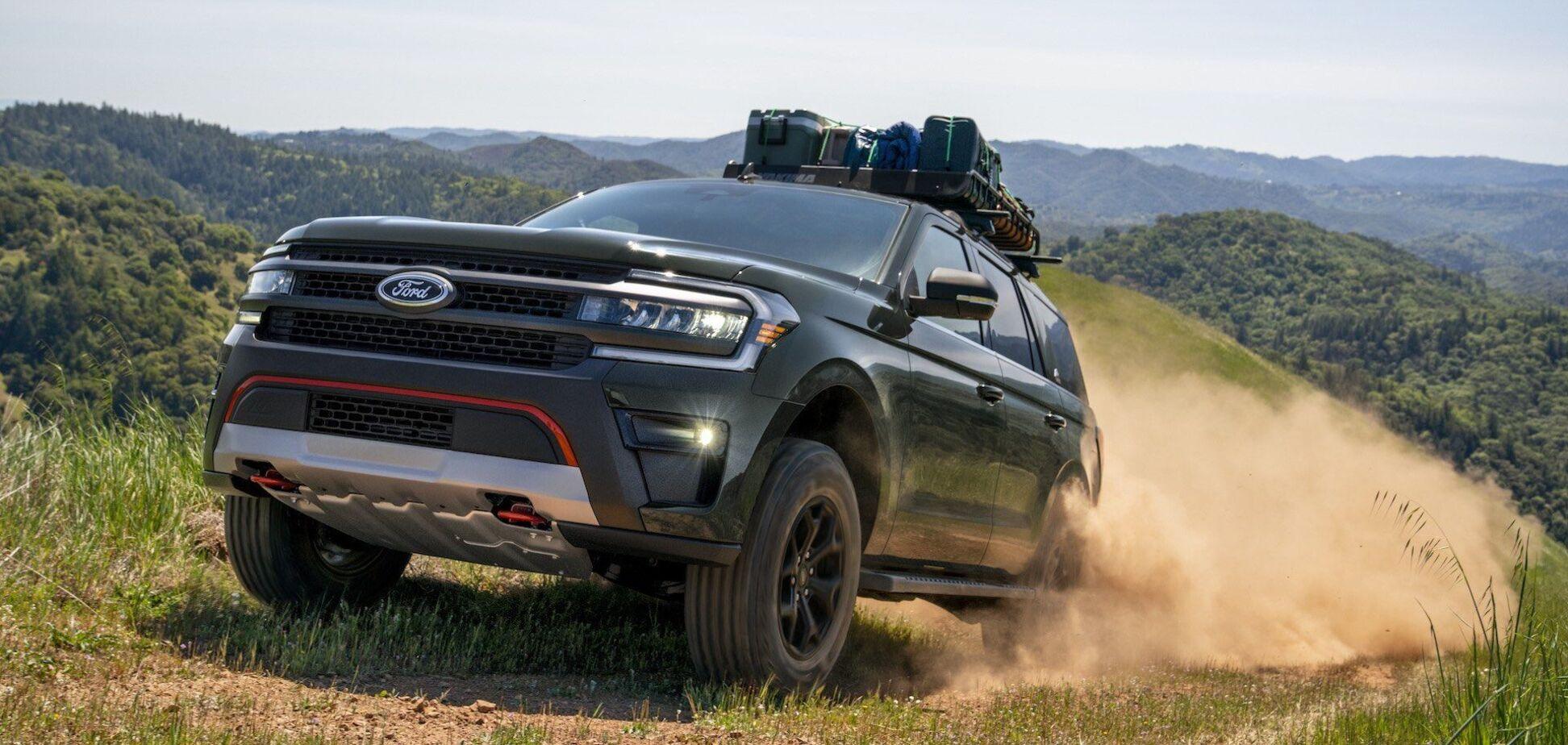 Внедорожник Ford Expedition подвергли обновлению