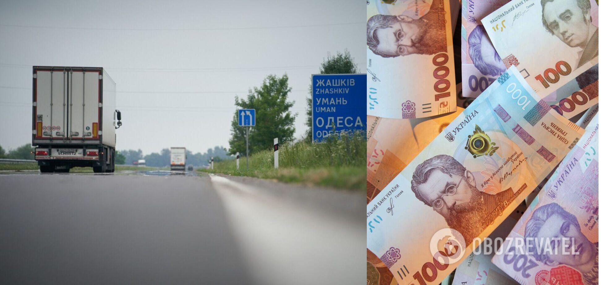 Для тяжелых фур дороги в Украине станут платными