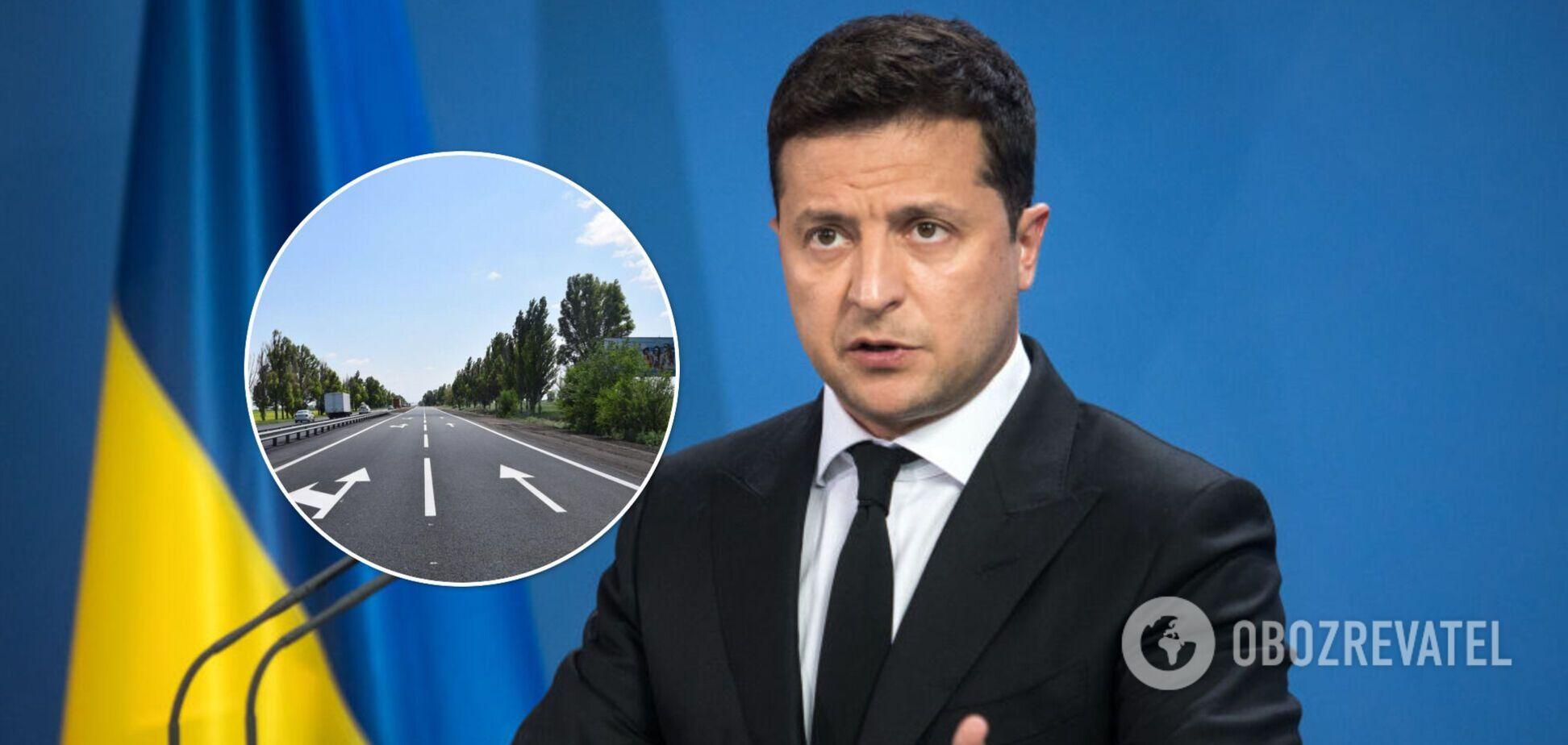 Зеленський похвалився українськими дорогами