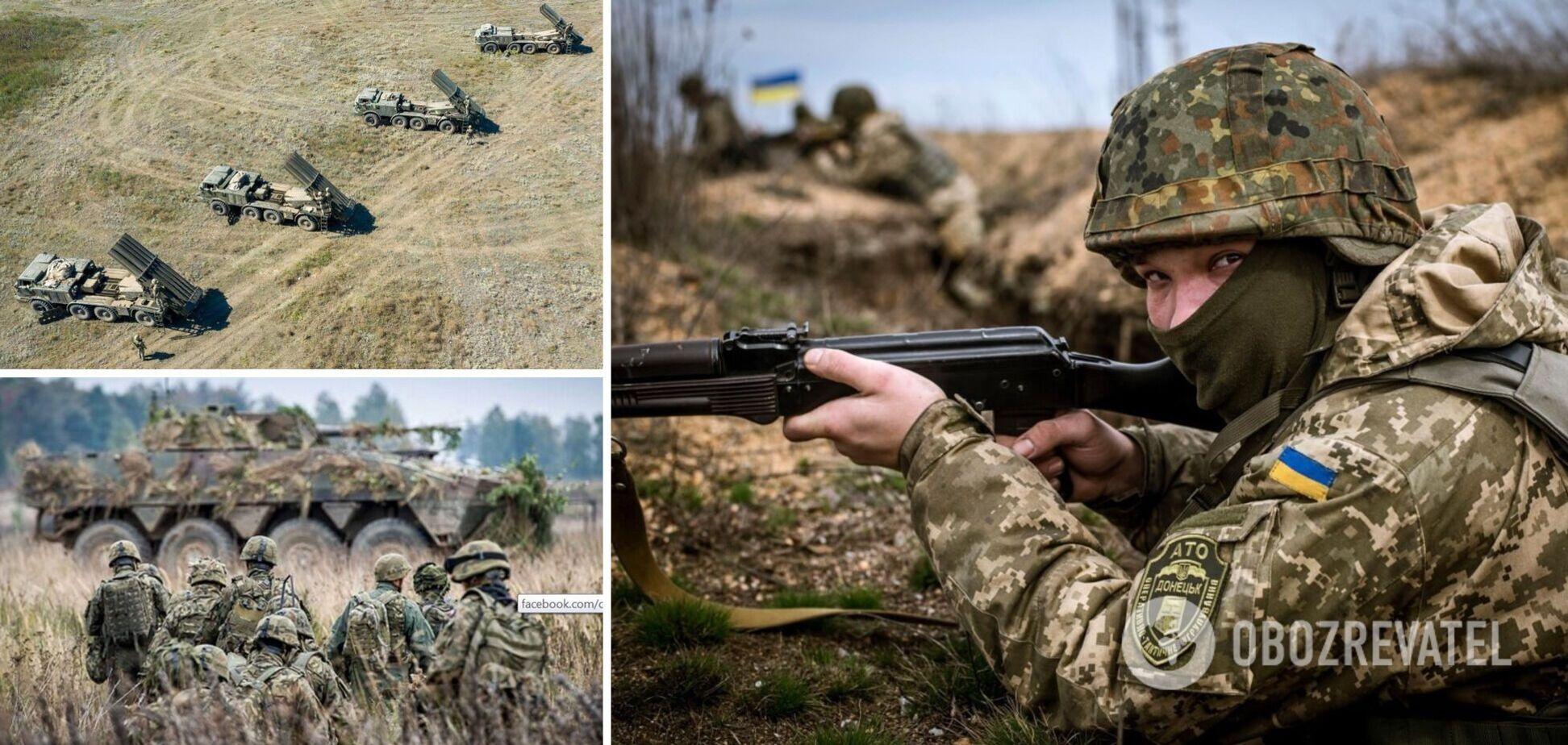 ВСУ провели учения с использованием системы 'Ураган' на админгранице с Крымом. Фото и видео