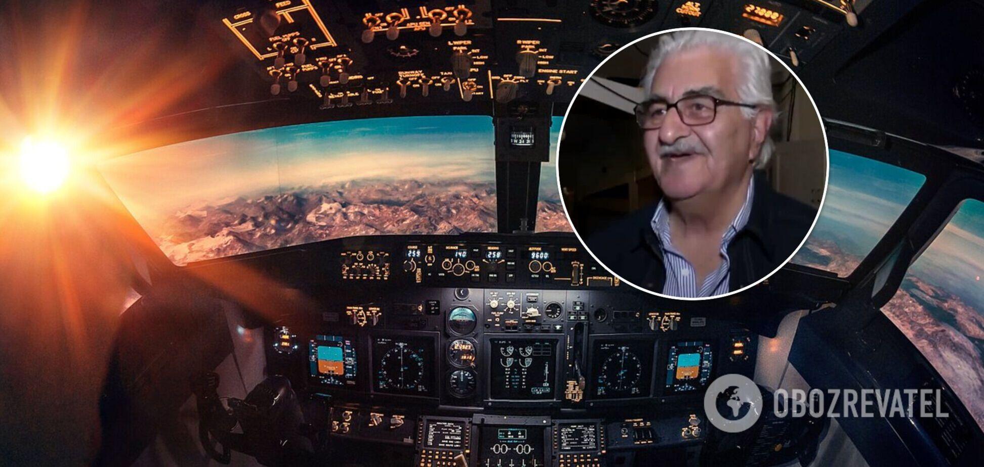 Облетів пів світу, не виходячи з дому: пенсіонер зробив авіасимулятор. Відео