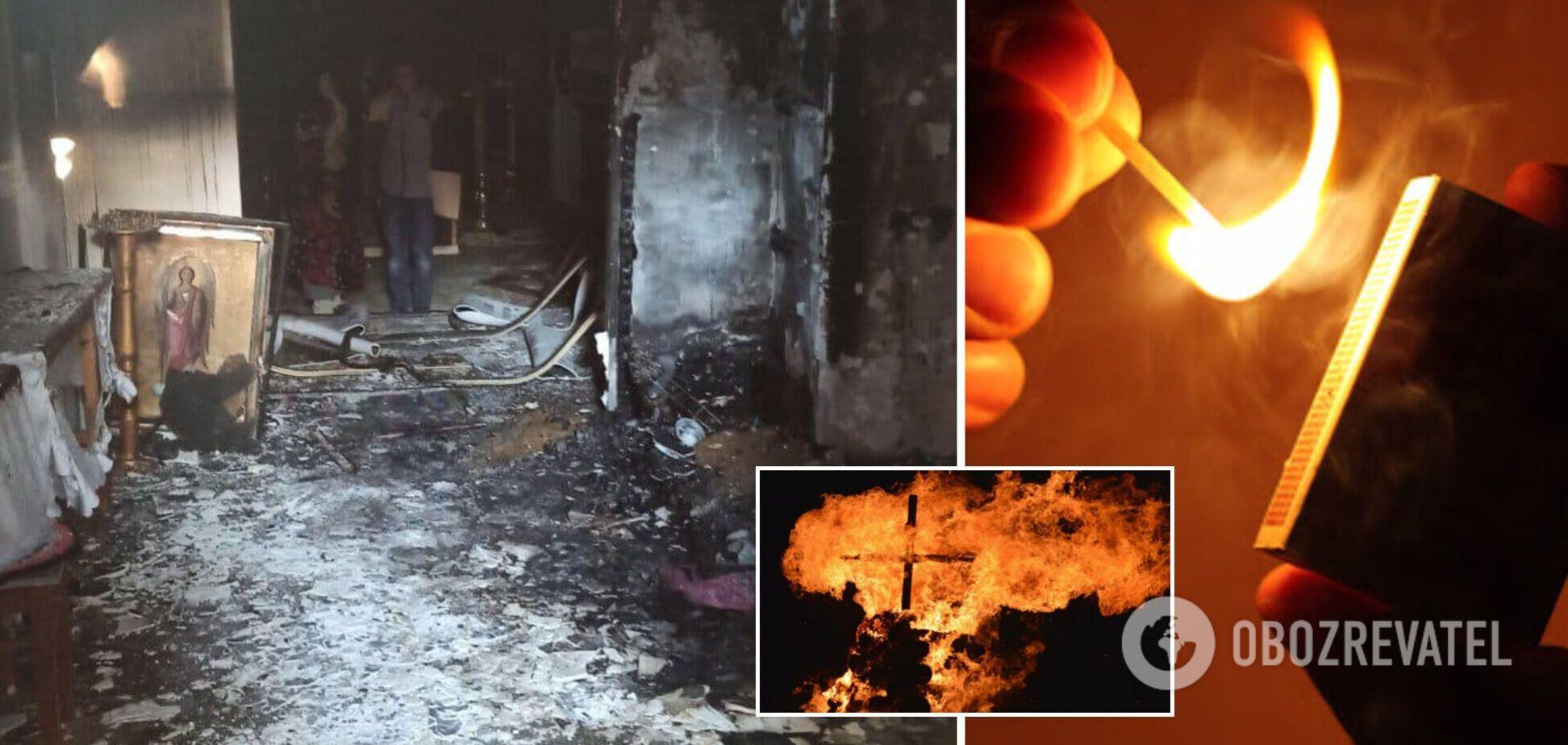 На Одещині підліток підпалив церкву: хотів помститися однокласнику. Фото