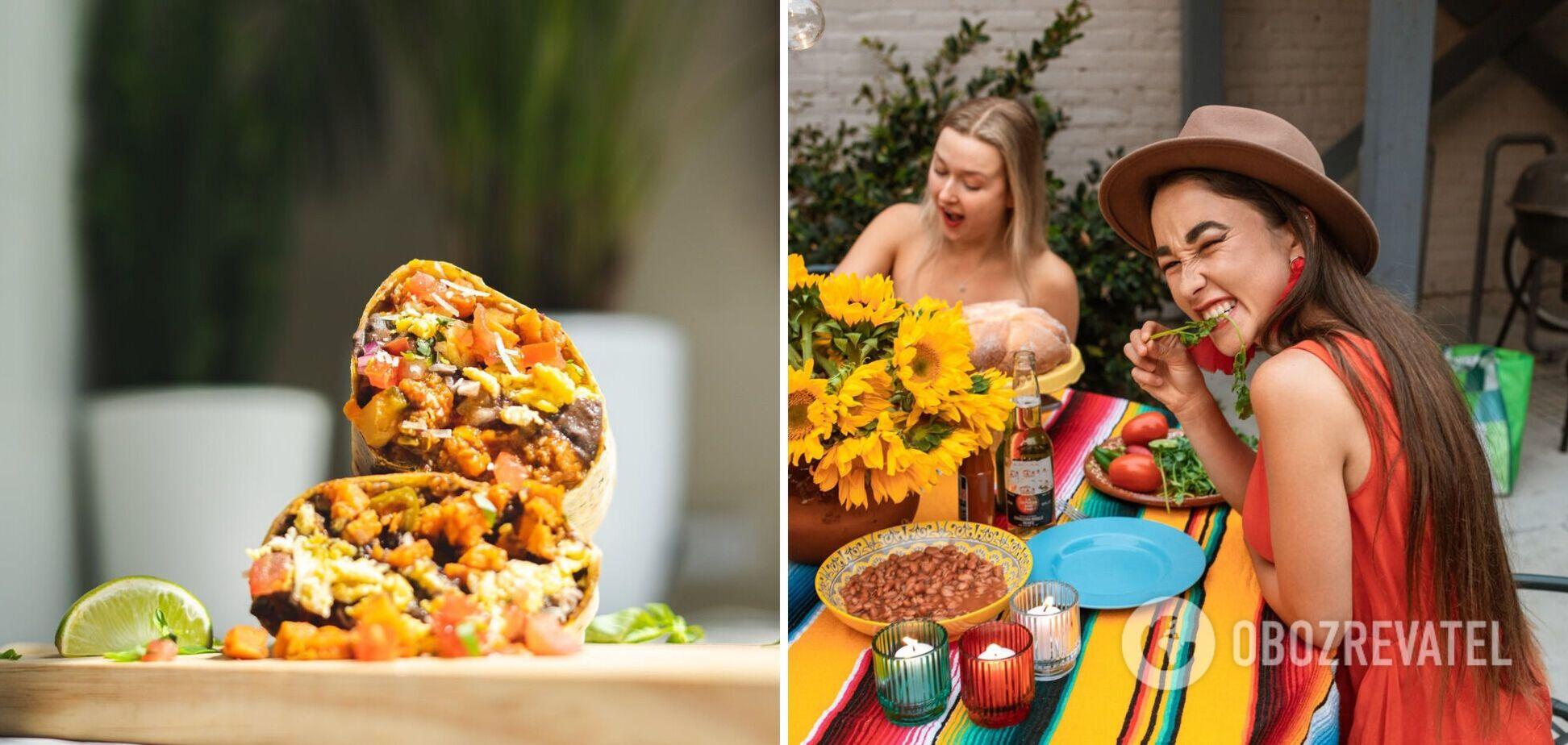 Буріто – найпопулярніша мексиканська страва: простий рецепт