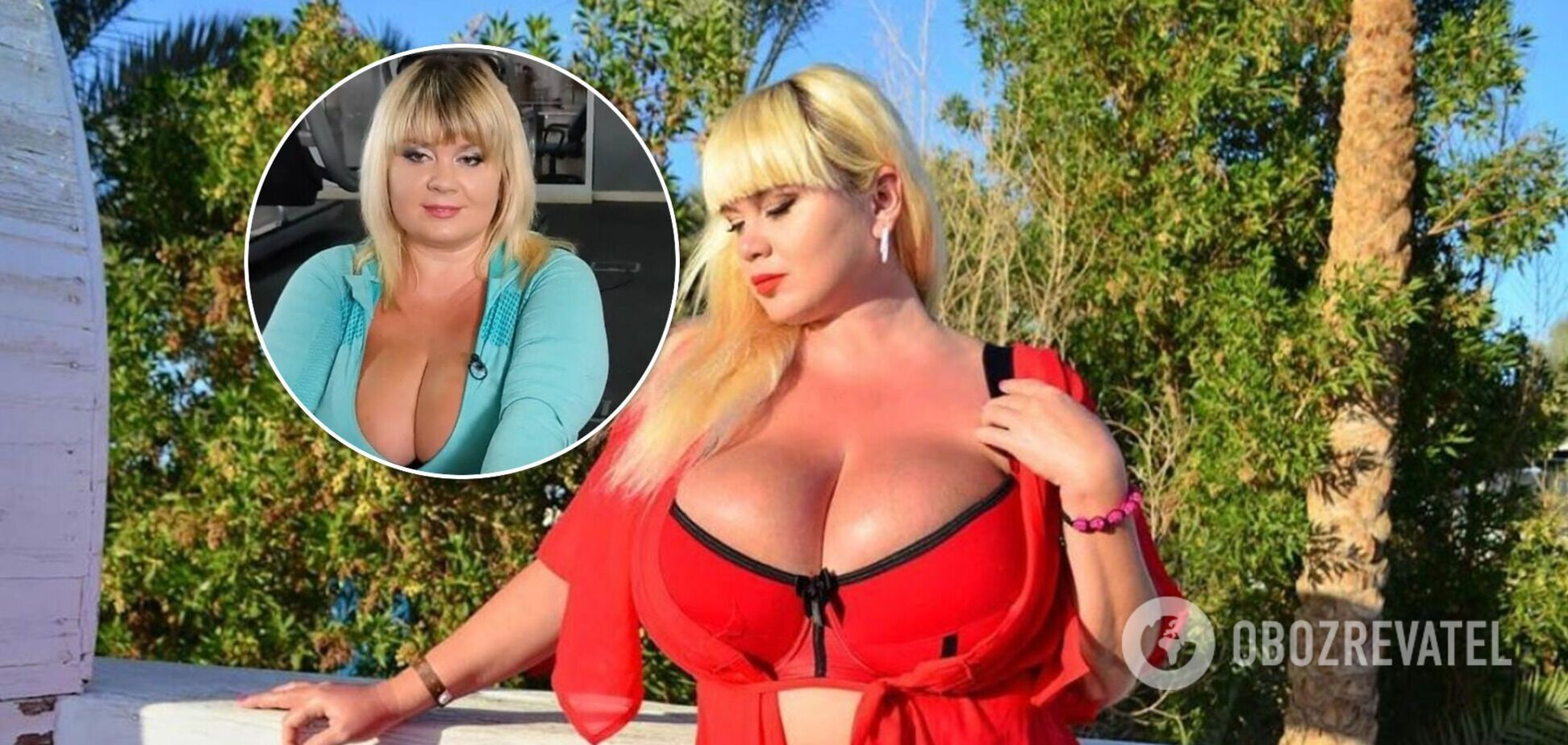 Украинка с самой большой грудью показала, как занимается в спортзале. Видео