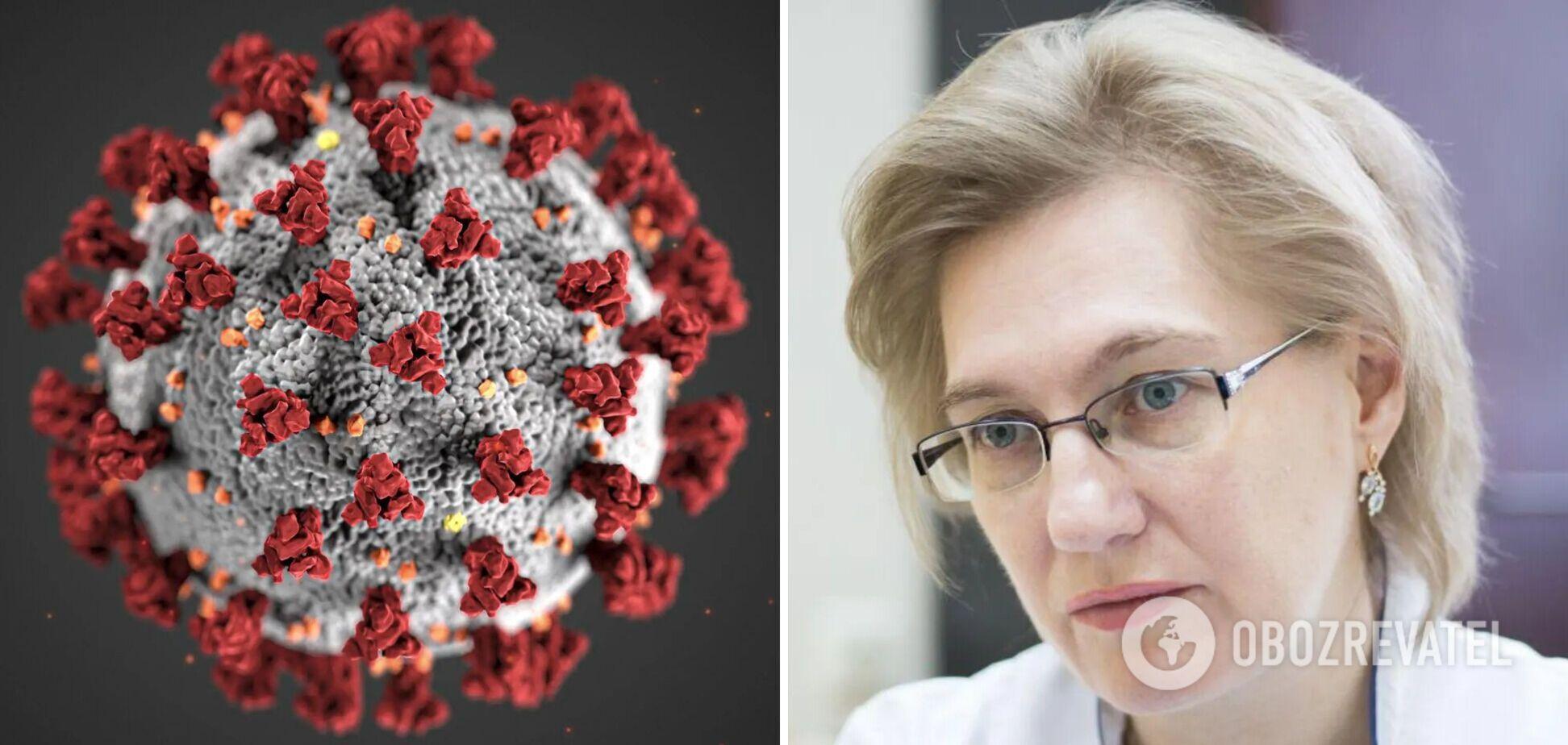 Голубовская назвала категорию людей, которых 'не берет' коронавирус. Видео