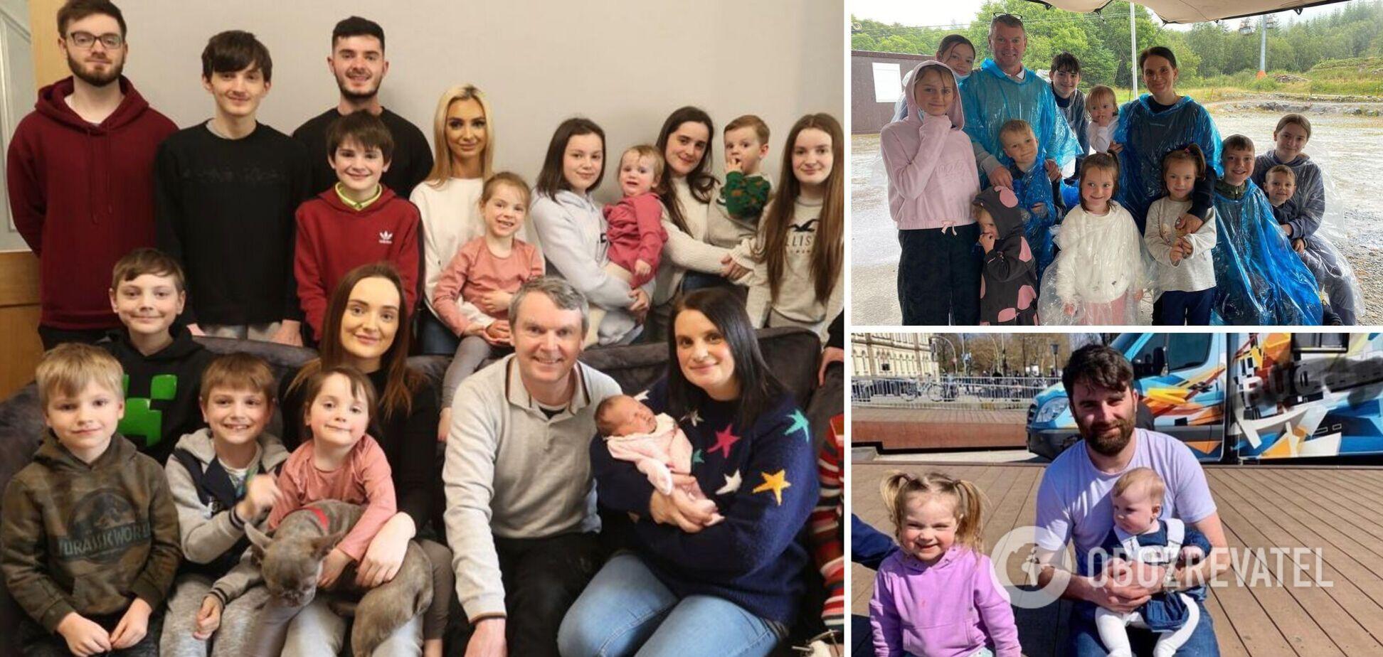 Самая большая семья Великобритании из 22 детей объявила о пополнении. Фото