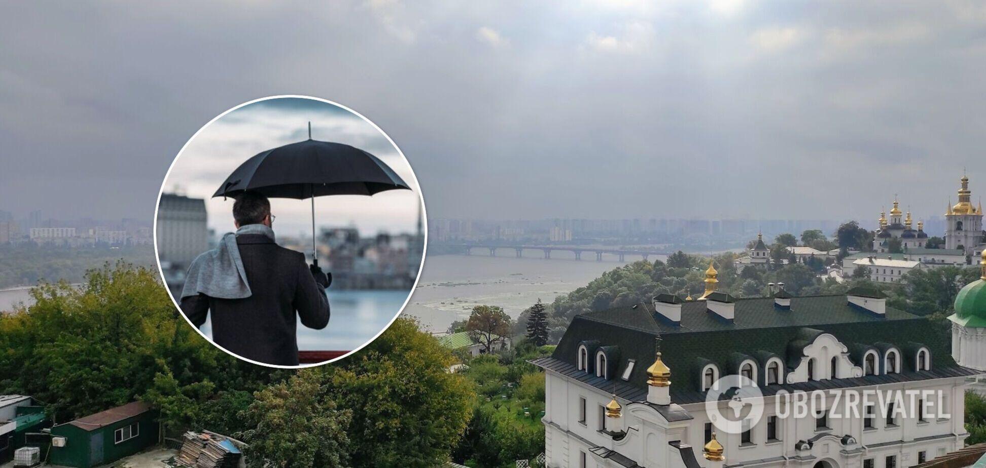 В столице в ближайшие два дня ожидаются дожди