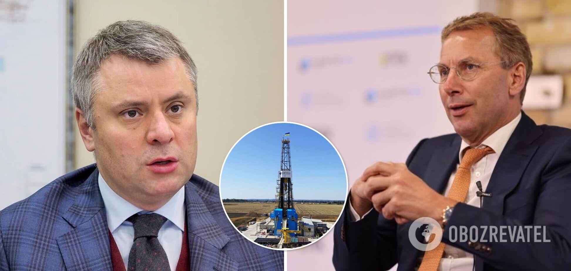 Юрій Вітренко (зліва) й Отто Ватерландер (праворуч) посперечалися про собівартість газу