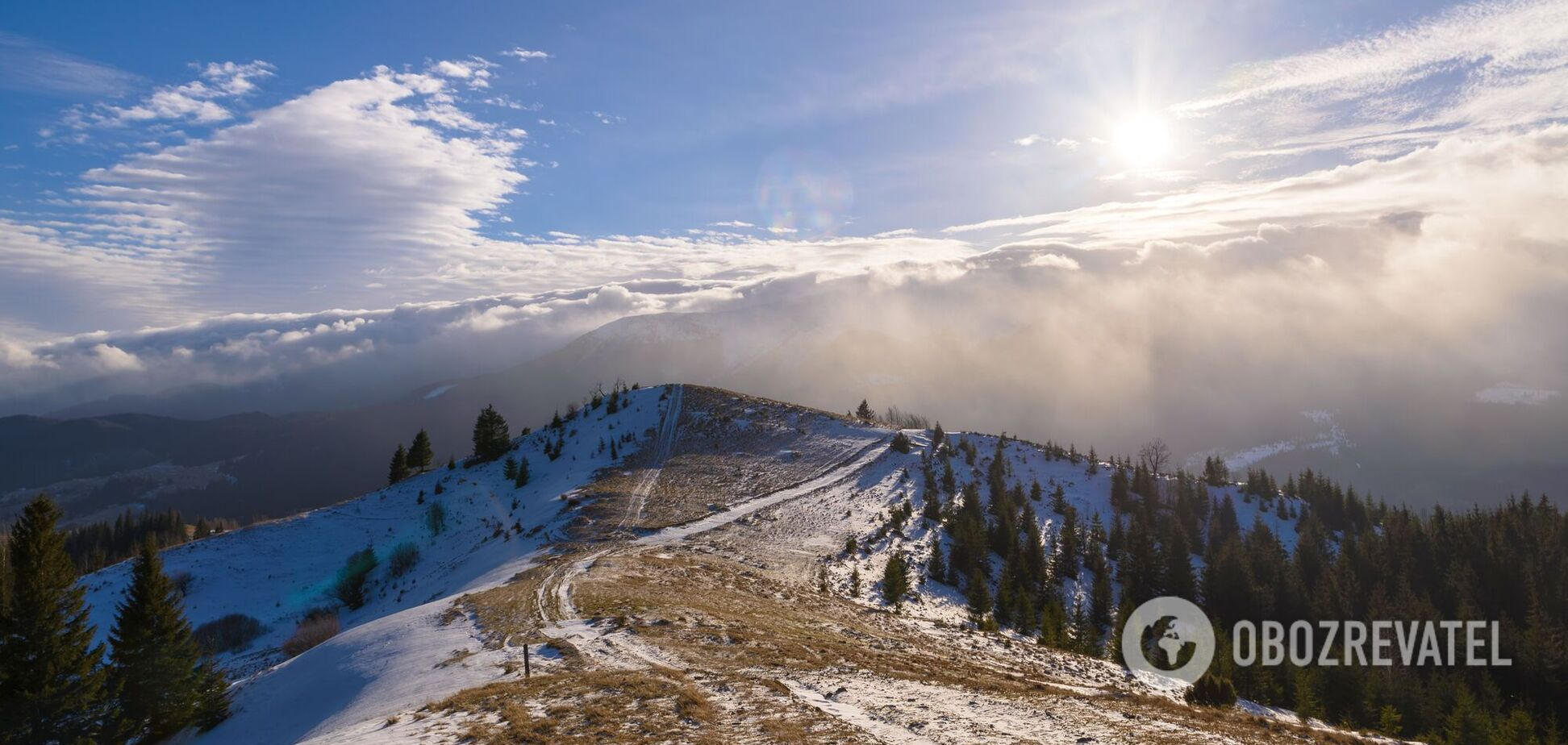В Карпатах в сентябре выпал снег, ударил мороз до -4. Фото и видео