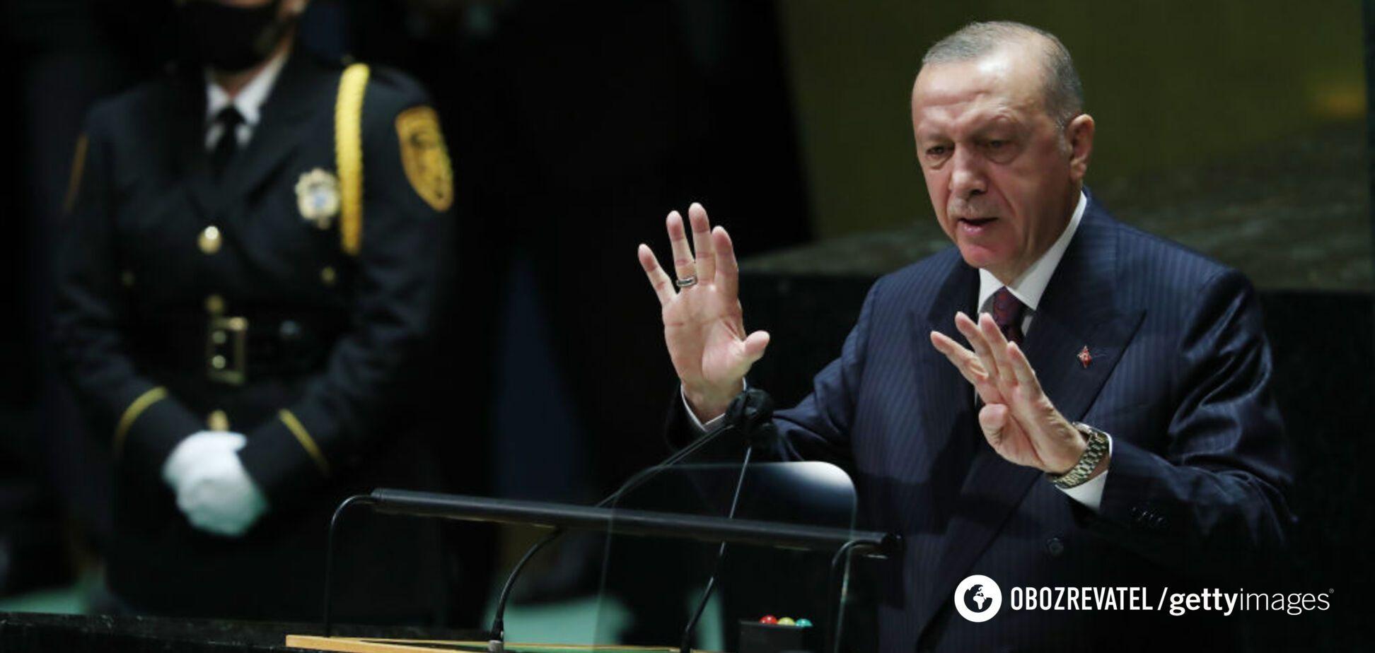 Ердоган заявив, що Туреччина не визнає анексію Криму: в Росії відреагували