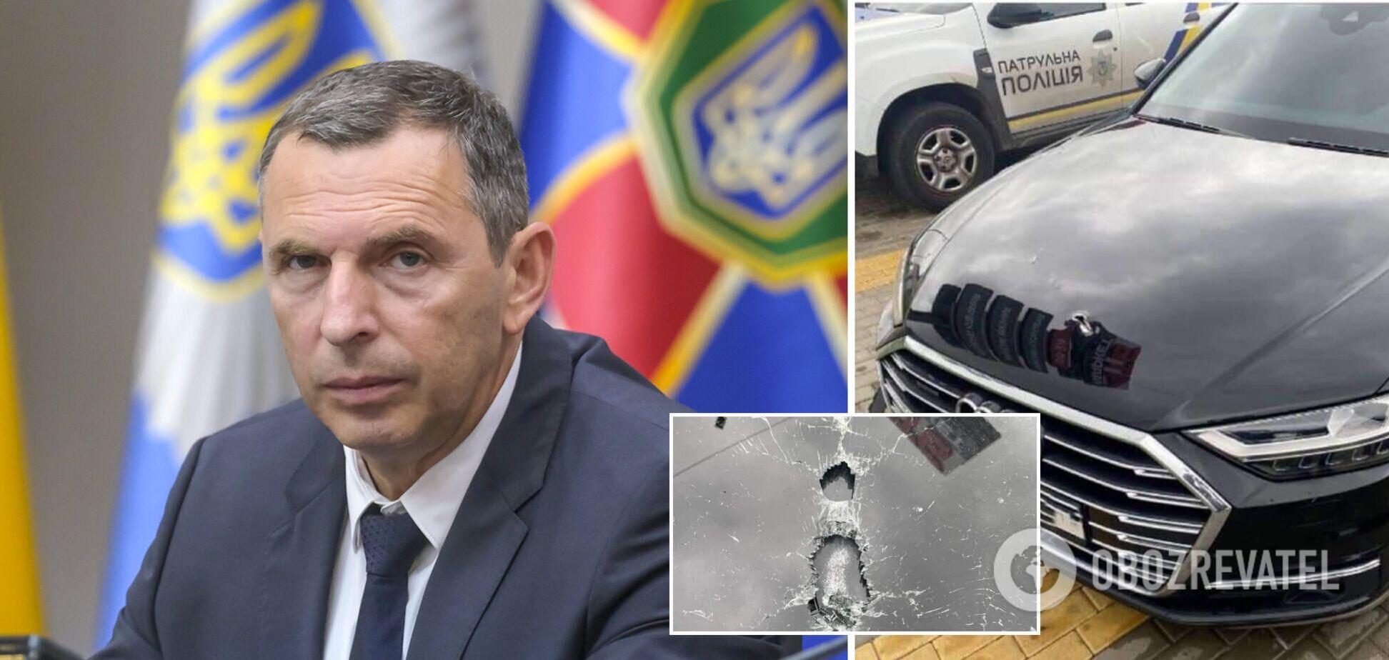 На радника президента Шефіра було скоєно замах, поранено водія. Фото та всі подробиці