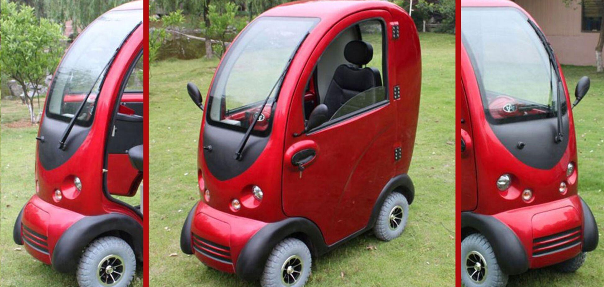 В Китае создали электромобиль за $100