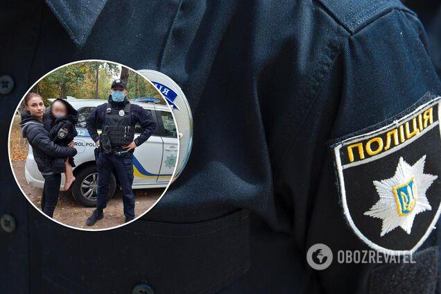 На Киевщине 2-летний малыш без одежды бродил по улицам, пока мать была в кафе: подробности и фото