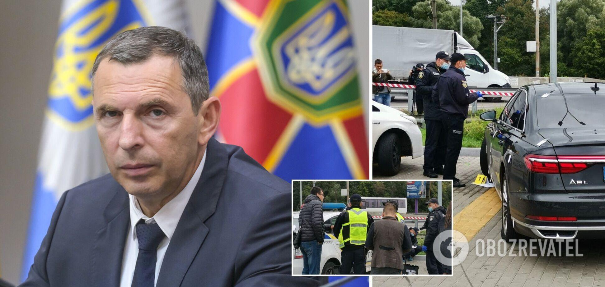 На радника президента Шефіра було скоєно замах, поранено водія. Фото, відео та всі подробиці