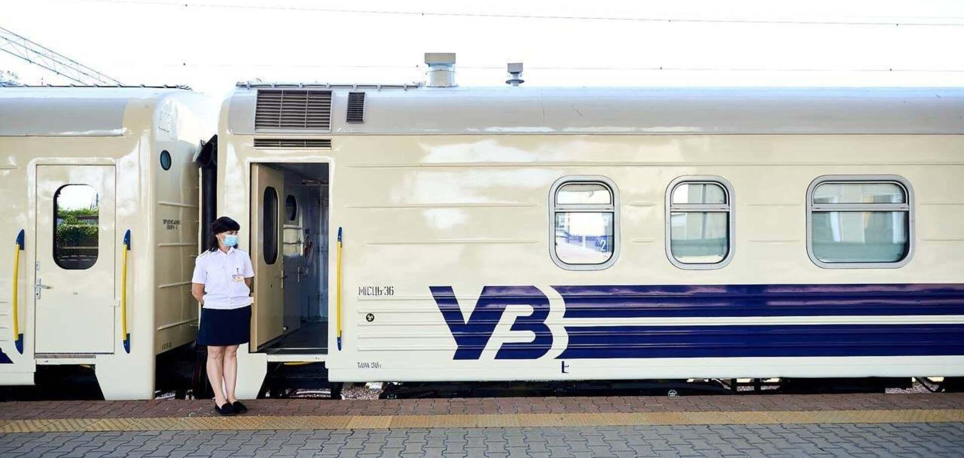 Компания 'Укрзалізниця' восстановила график поездов до станции Скотувата