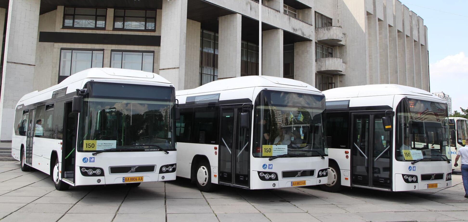 Автобусы 150-го маршрута