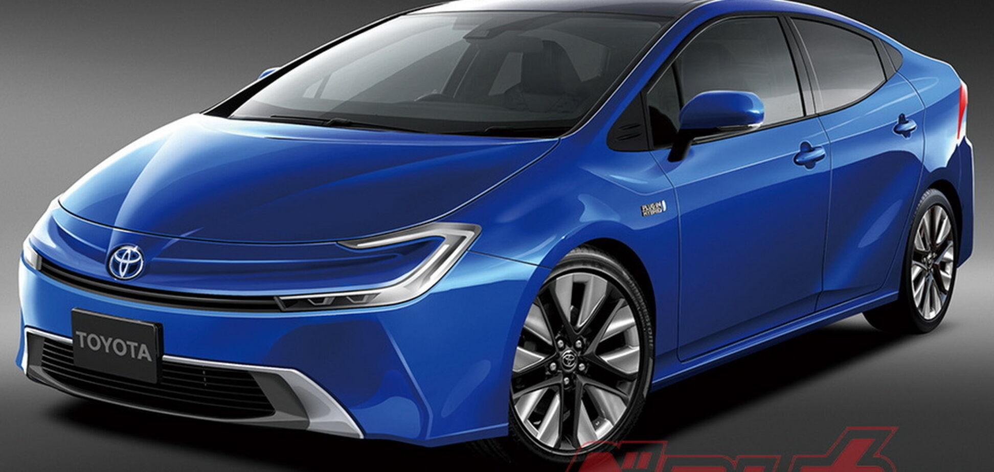 Toyota Prius перейдет на водород в 2025