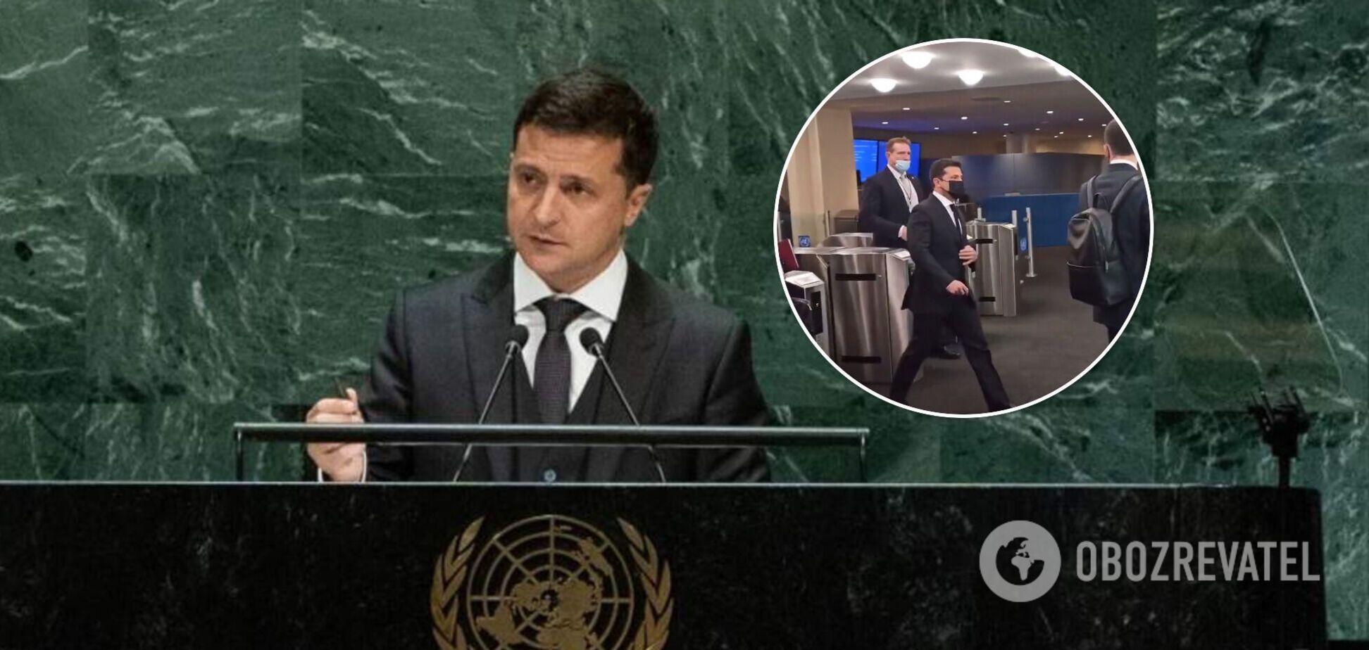 Зеленский на Генассамблее ООН проигнорировал российского журналиста. Видео