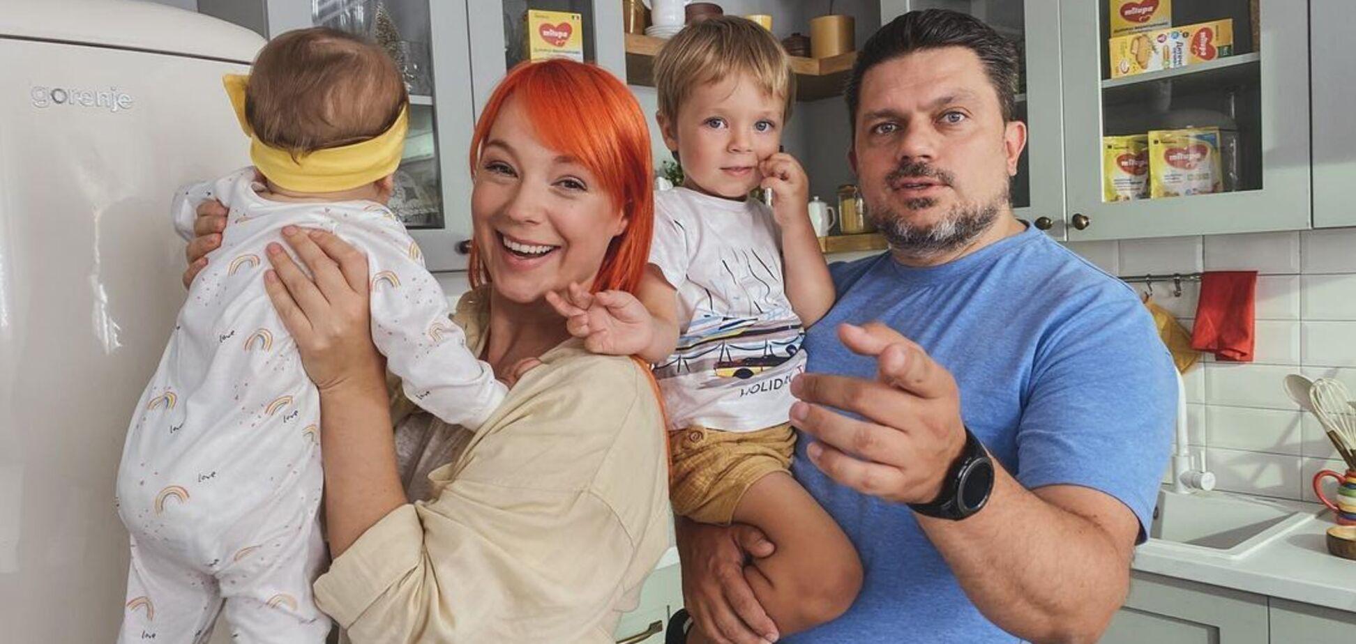 Тарабарова вперше показала обличчя доньки. Фото