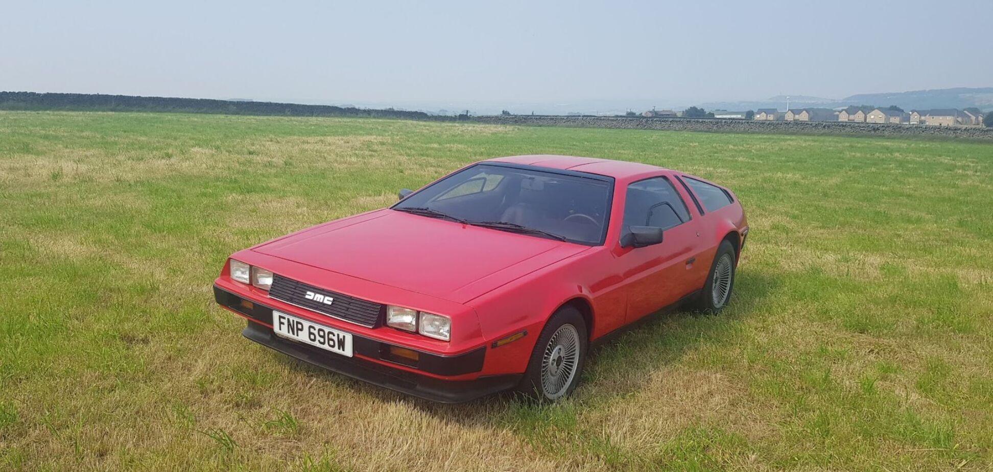 На аукционе выставили нестандартное купе DeLorean