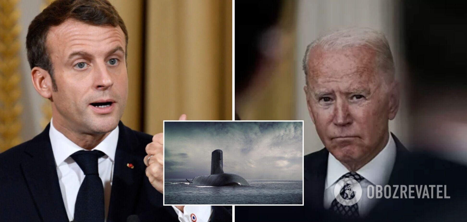 Байден і Макрон провели переговори після скандалу з підводними човнами: Франція поверне посла в США