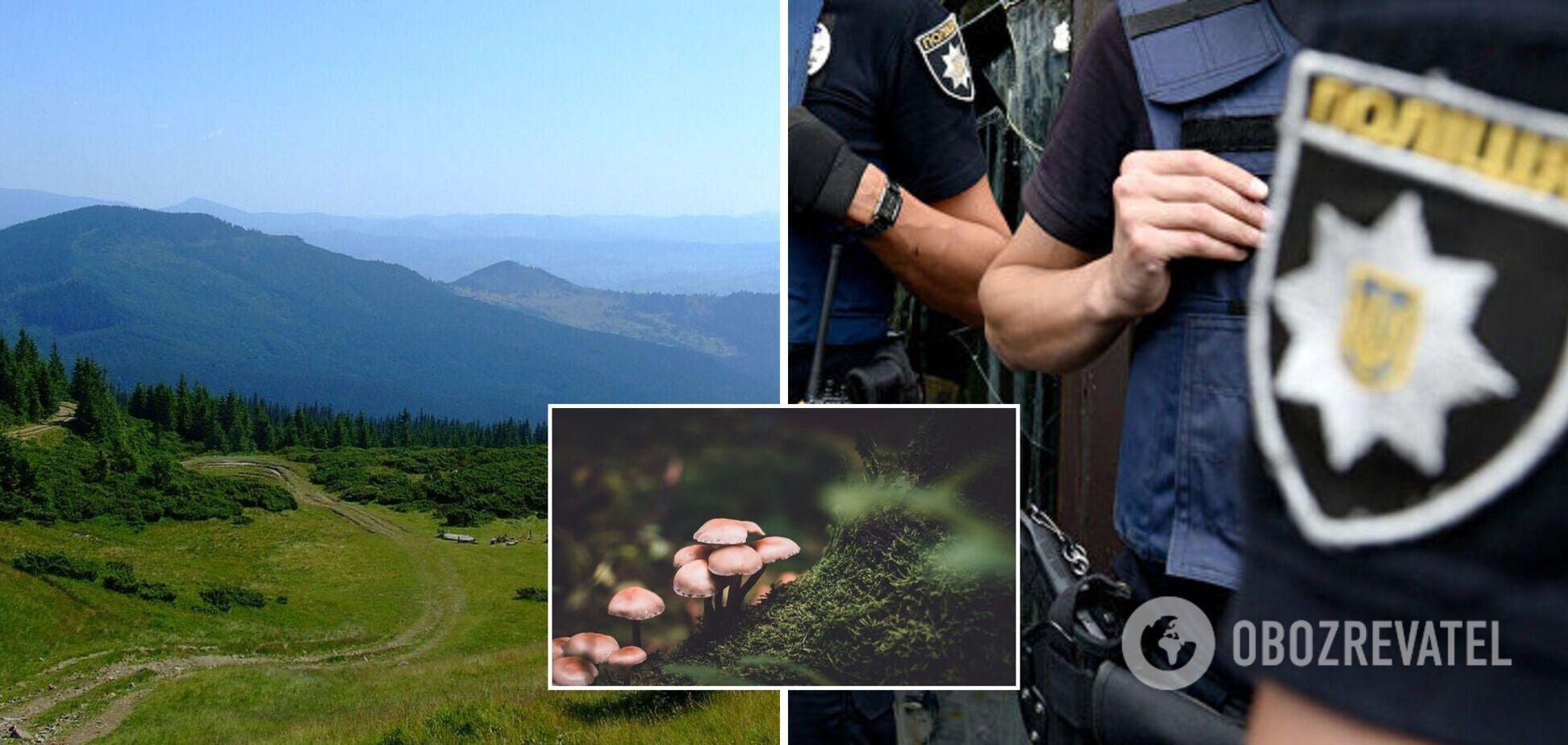 На Прикарпатье обнаружили тела двух мужчин, которые ушли в лес по грибы и не вернулись