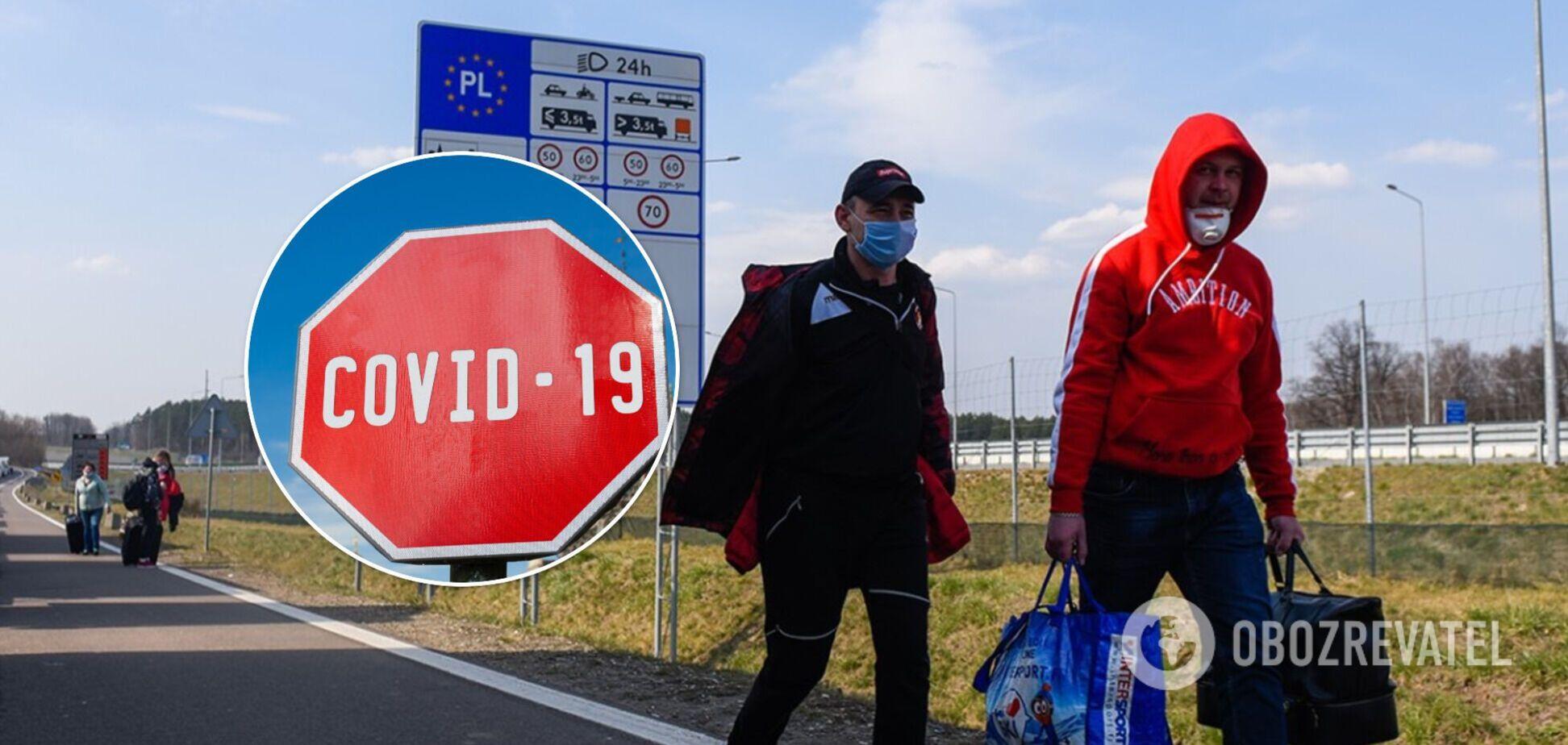 Украинских заробитчан предупредили о новых коронавирусных ограничениях в Европе