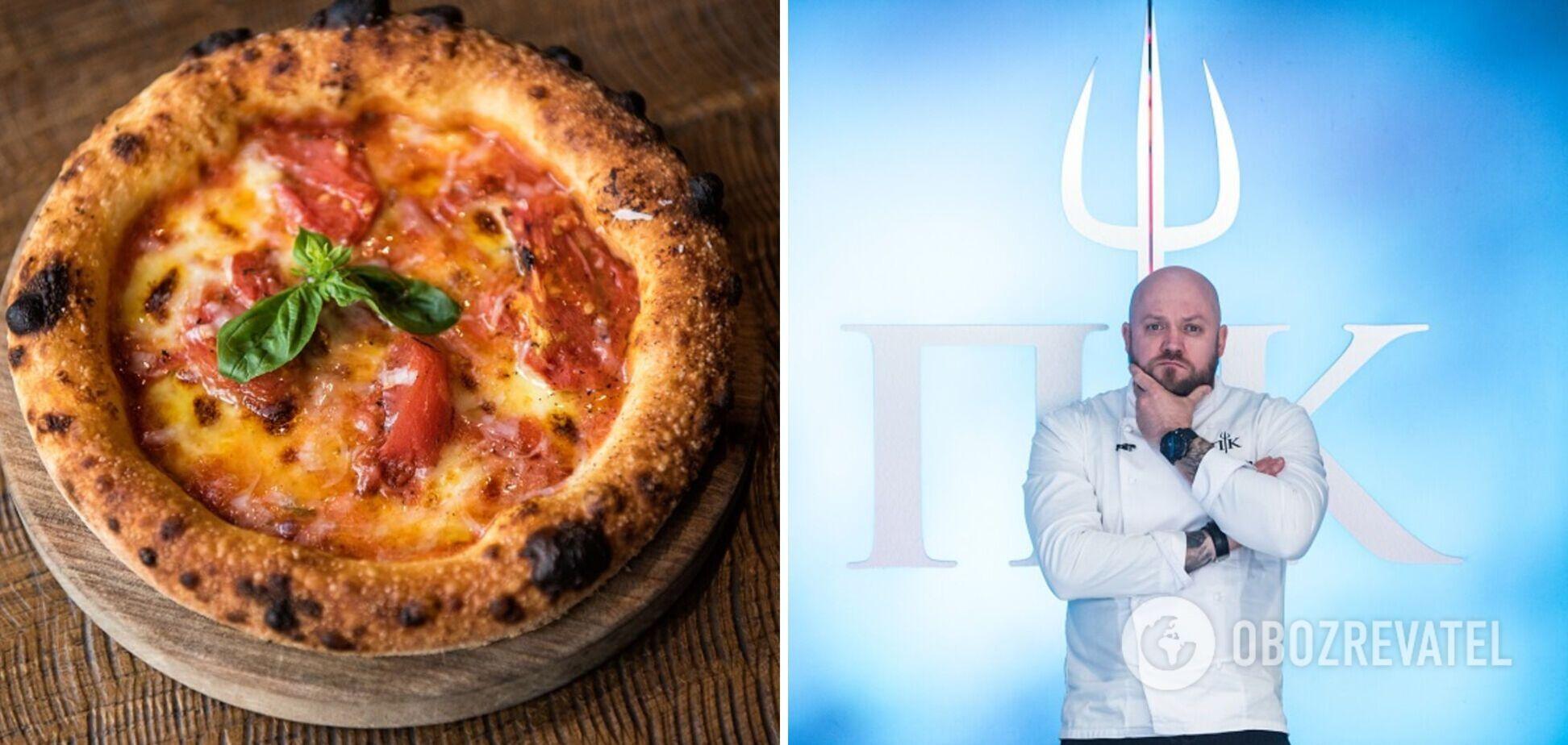 Пицца 'Маргарита' от шефа 'Адской кухни': рецепт культового блюда