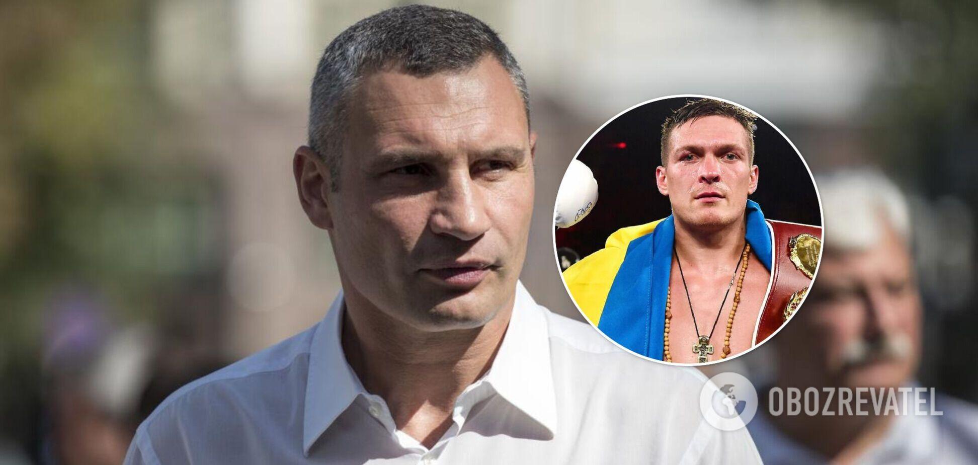 Кличко будет поддерживать Усика в Лондоне во время поединка с Джошуа