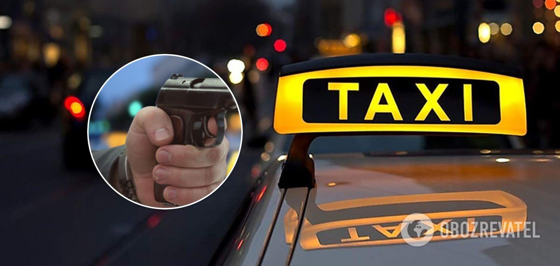 У Полтаві таксист погрожував пасажиру зброєю: справою зайнялася поліція