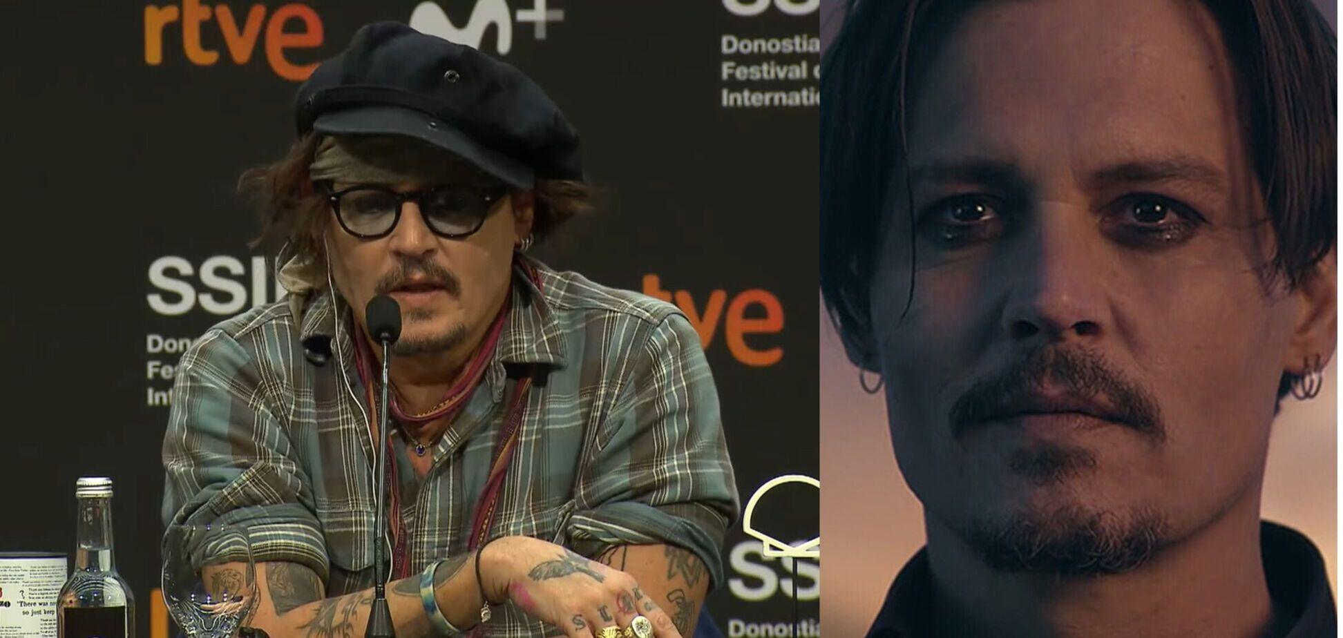 'Життя зламане': Джонні Депп відповів на бойкот з боку режисерів і кінофестивалів. Відео