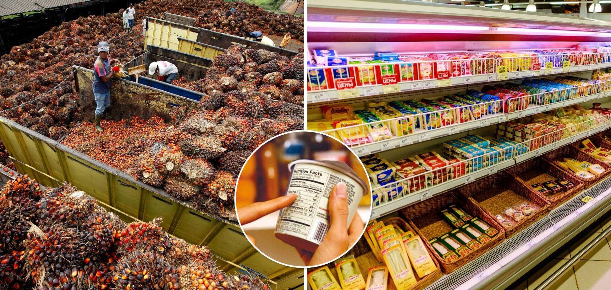 Пальмовое масло в Украине запретят, но не во всех продуктах