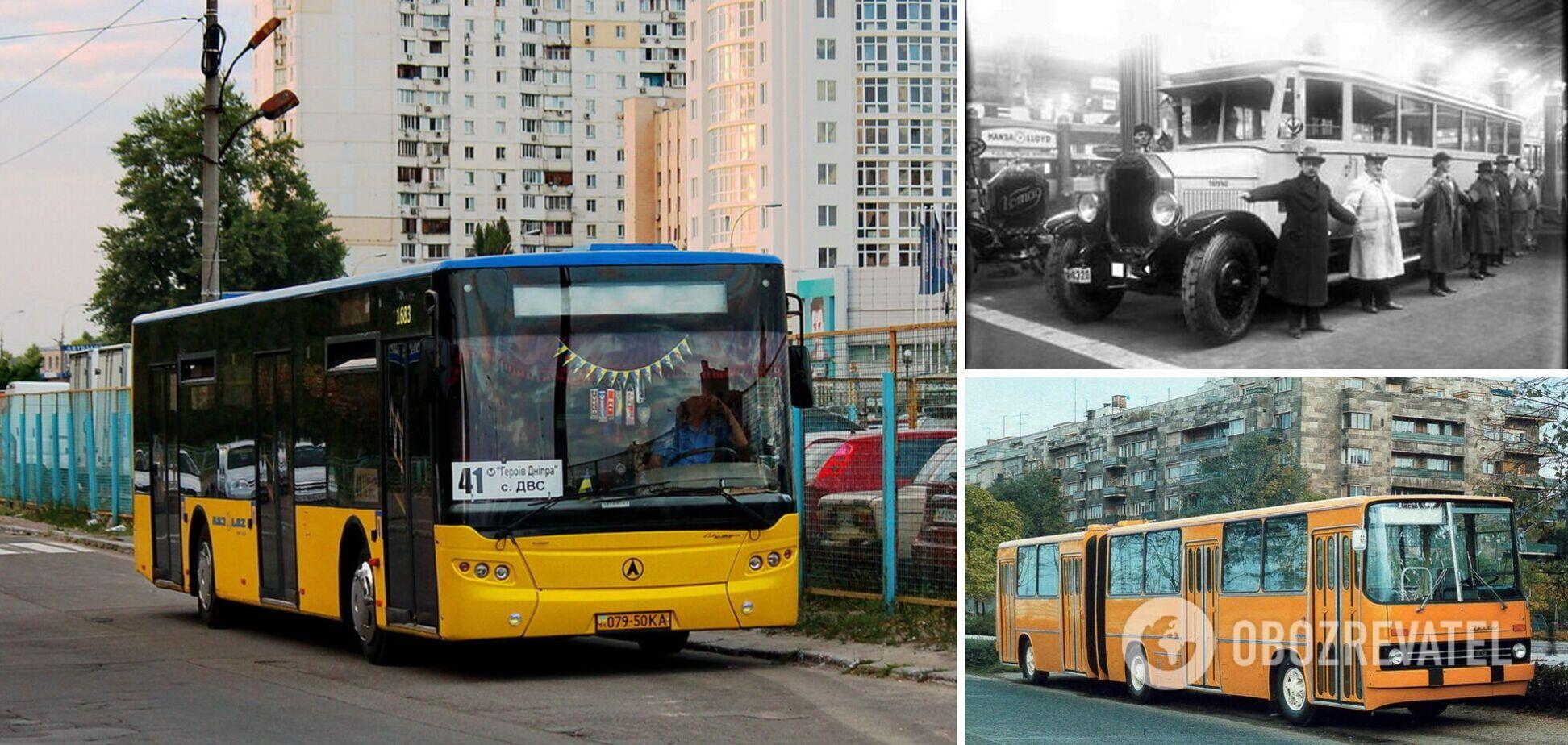 Первыми автобусами столицы были Benz (Mercedes)