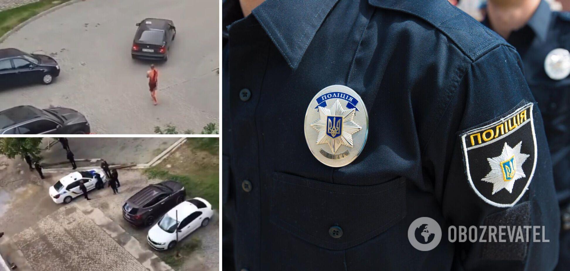 В Івано-Франківську чоловік із ножем увірвався в квартиру і поранив господаря: за його життя борються лікарі. Фото