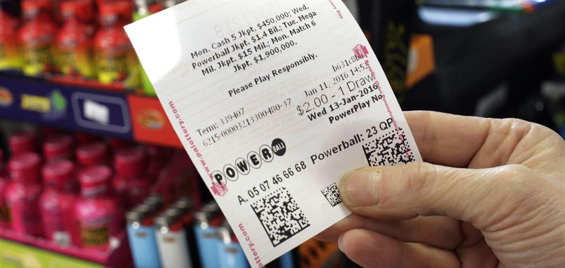 Powerball США разыграет $523 млн: как приобрести билет из Украины