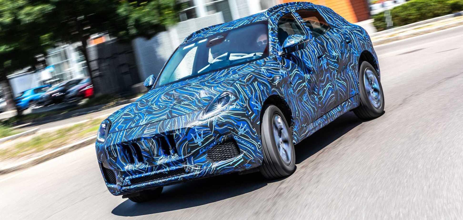 Maserati назначила дату дебюта кроссовера Grecale