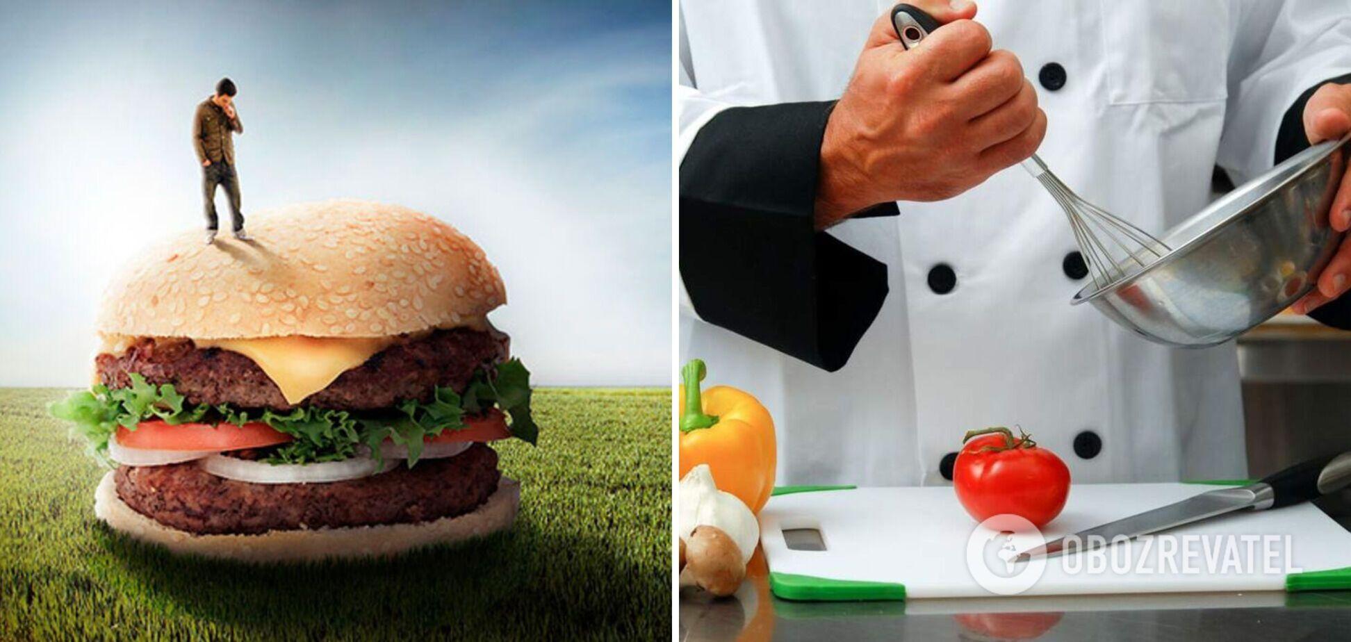 Сендвіч ногами і омлет за 25 секунд: неймовірні кулінарні рекорди