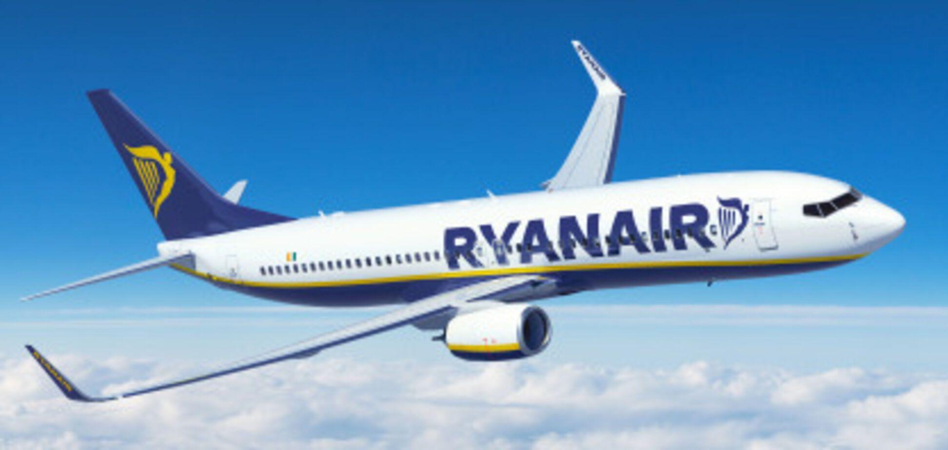 Ryanair планирует расширение на авиарынке Украины