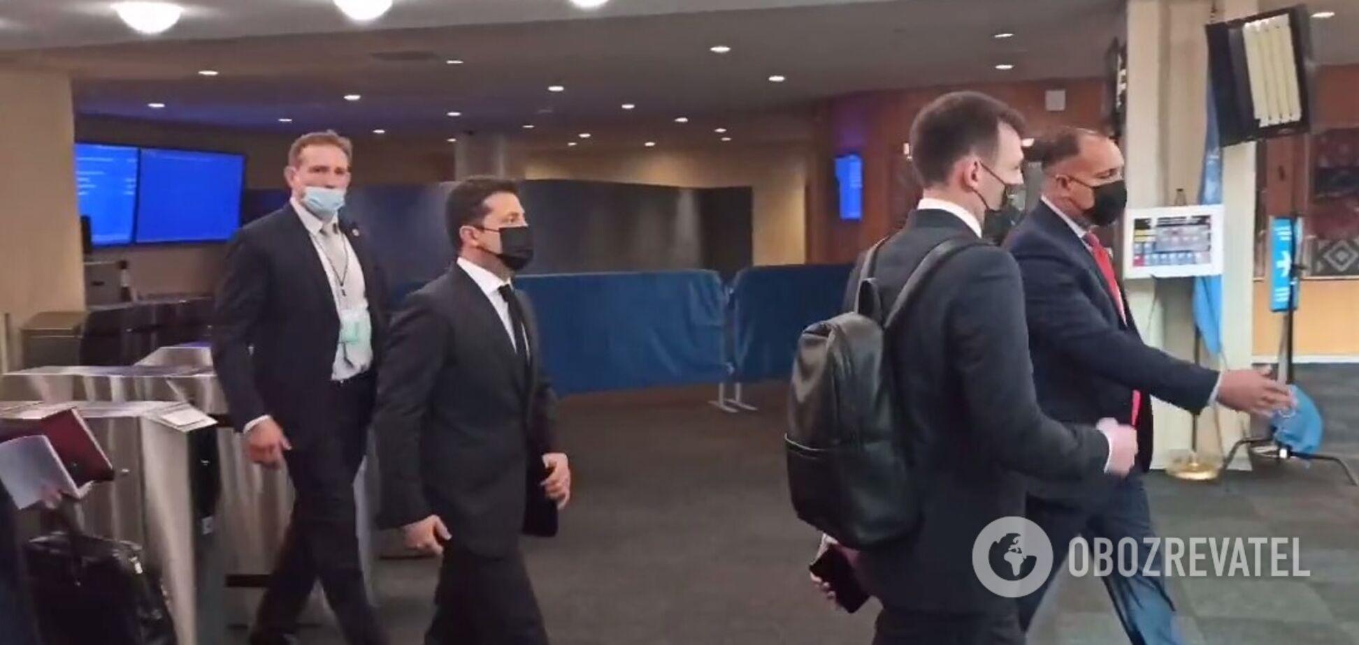 Зеленський не став спілкуватися з російським пропагандистом на Генасамблеї ООН