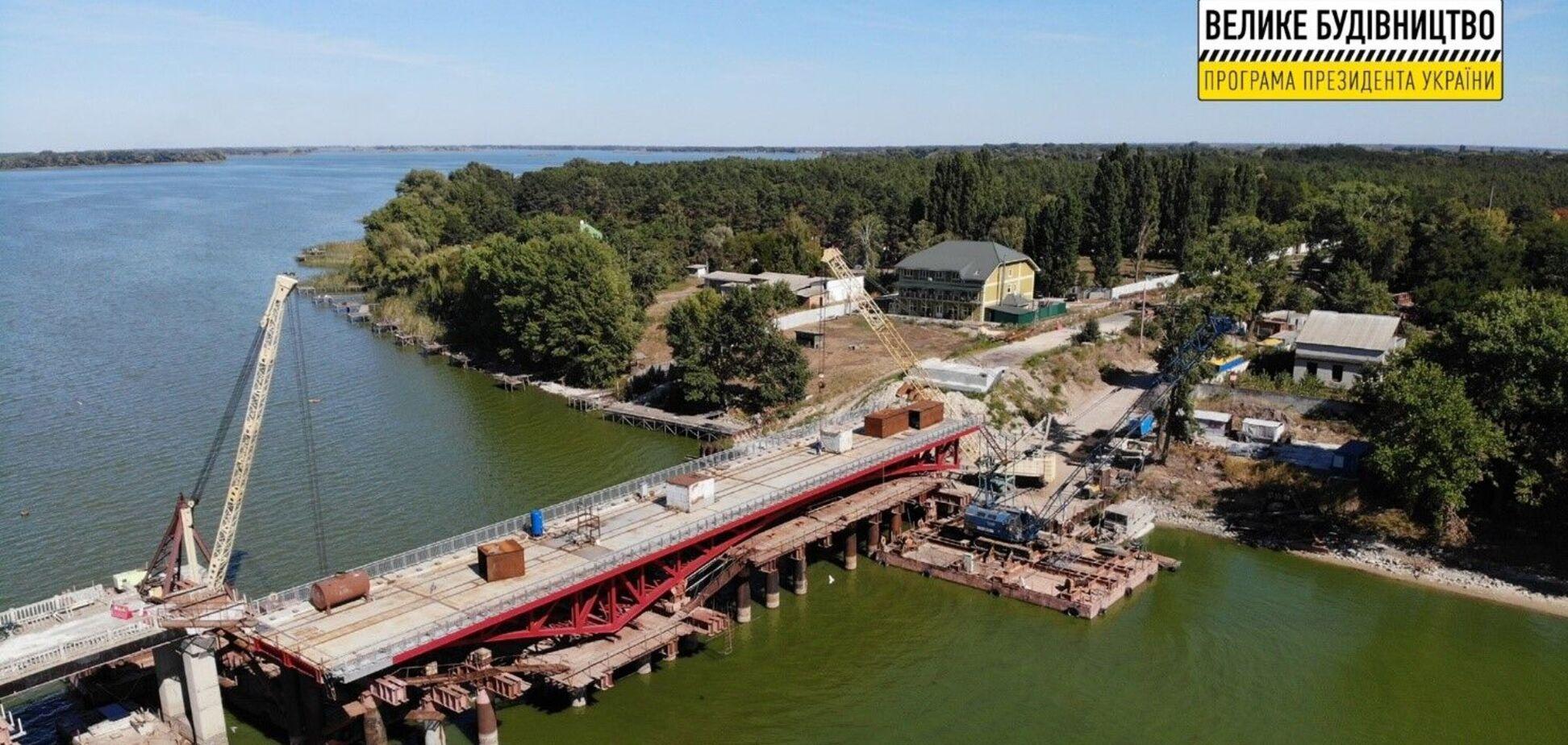 Біля села Липове Полтавської області завершується відбудова мосту