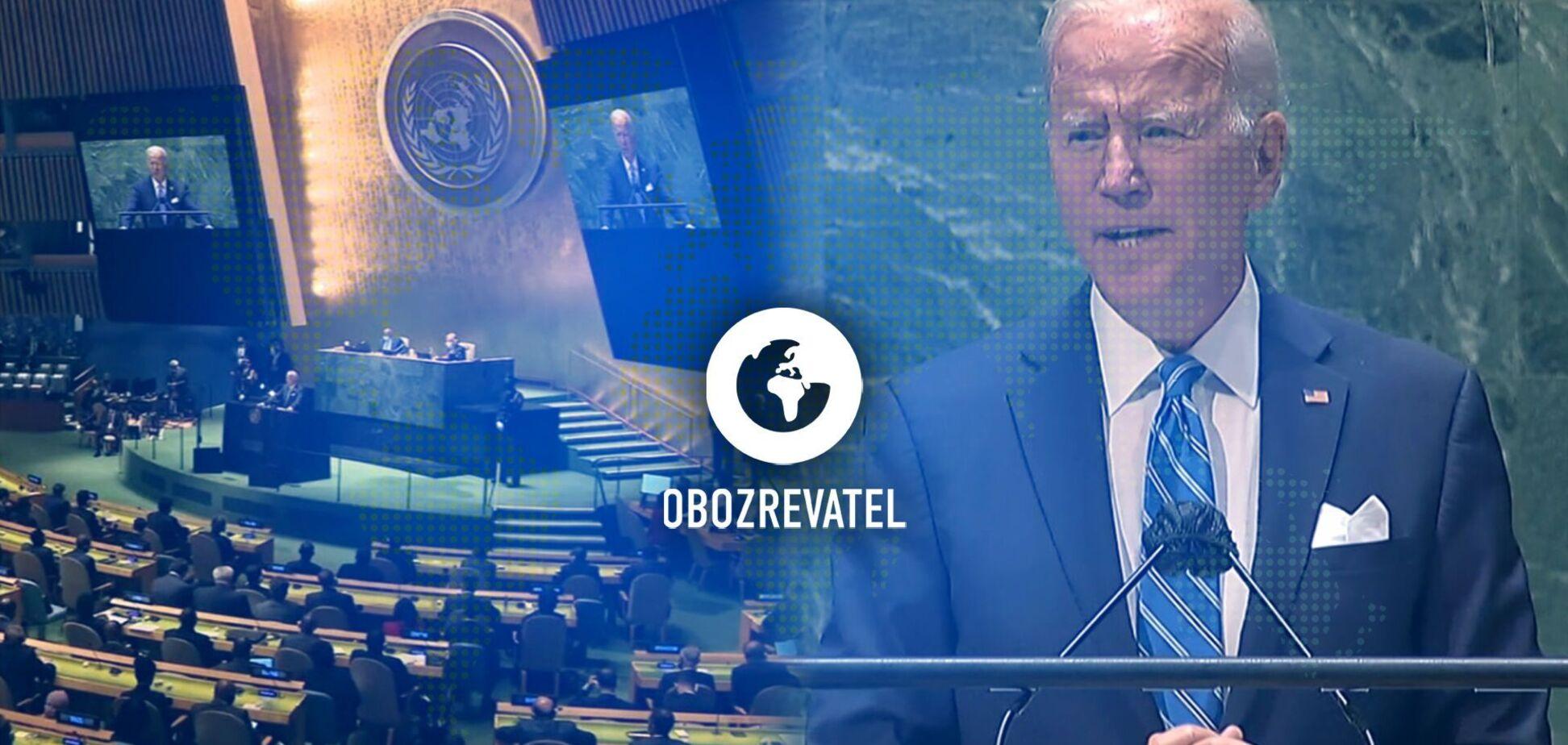 Еру 'безперервної дипломатії' оголосив президент США Джо Байден на Генасамблеї ООН у Нью-Йорку – дайджест міжнародних подій