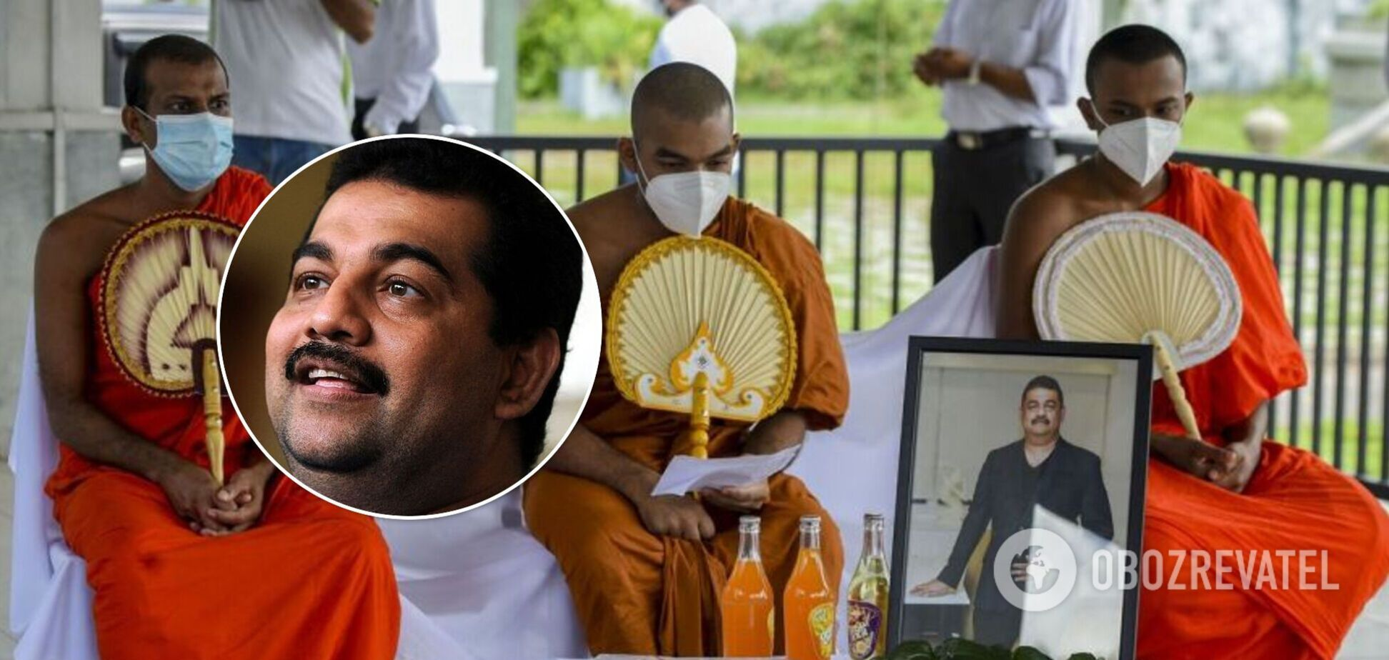 На Шри-Ланке от COVID-19 умер шаман, придумавший 'лекарство' от вируса