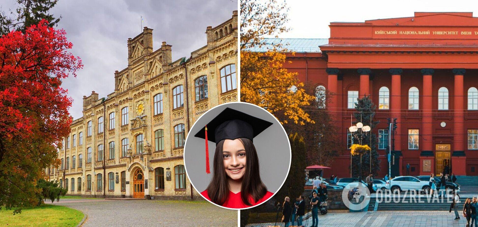Университет Шевченко и КПИ попали в рейтинг QS Graduate Employability Rankings 2022