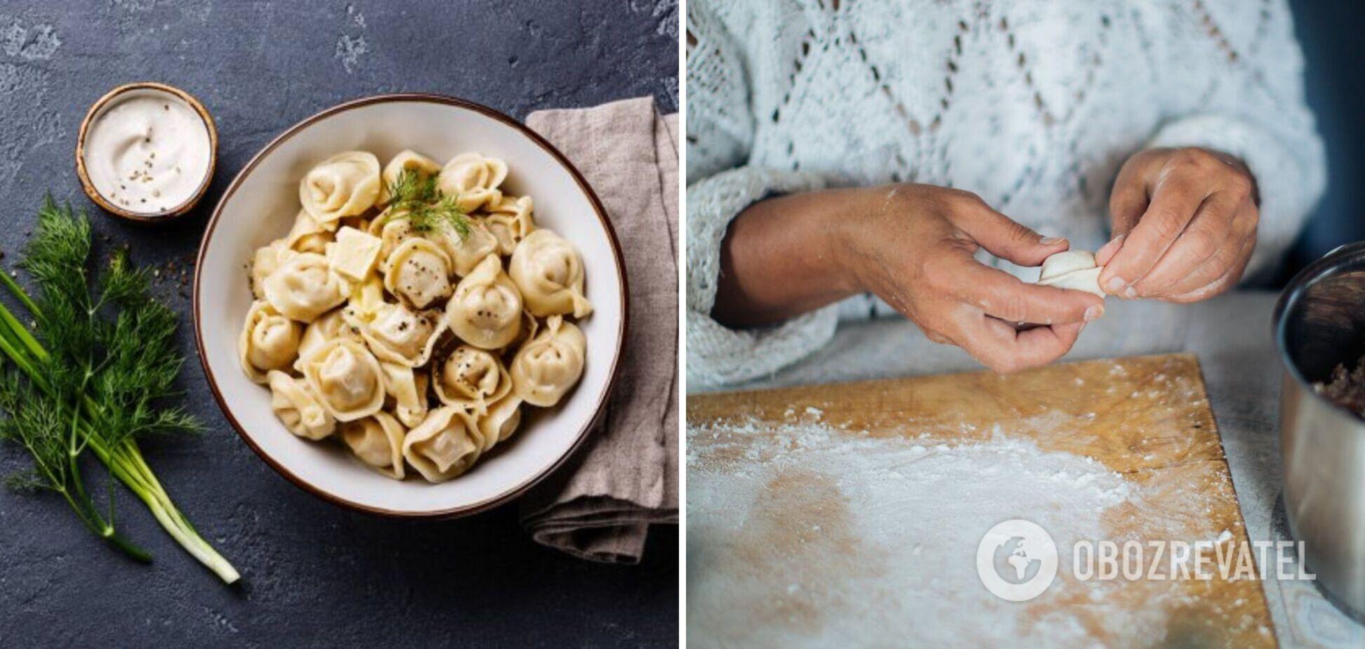 Как сделать идеальное тесто для пельменей: 2 варианта