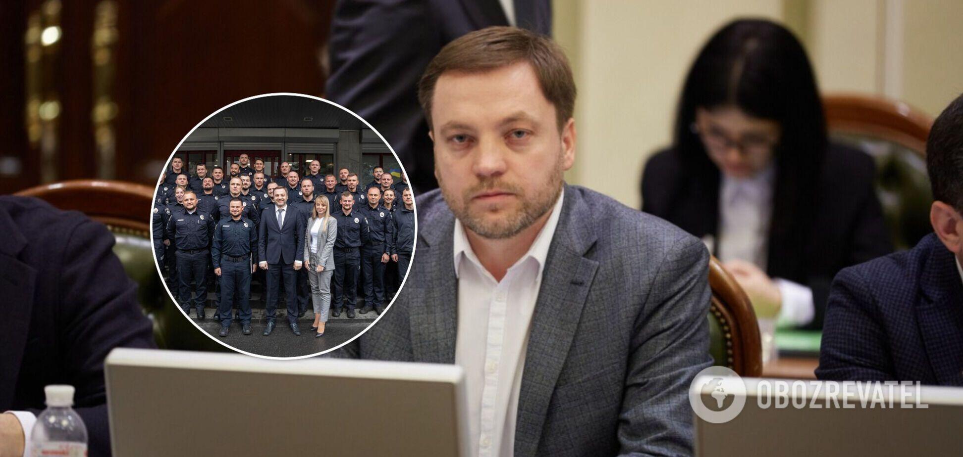 Монастырский встретился с руководителями подразделений патрульной полиции: о чем говорили
