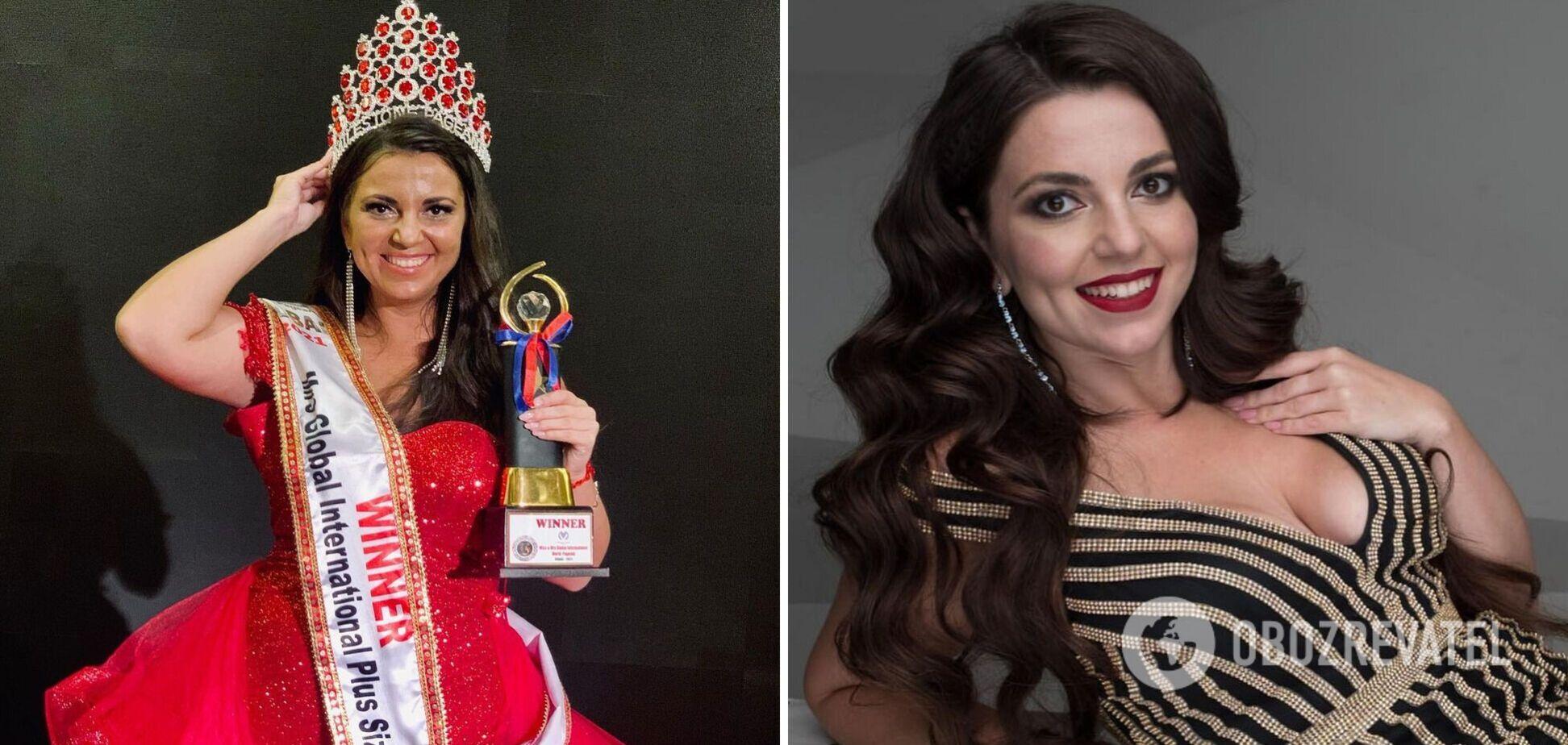 Українка перемогла в престижному конкурсі 'Міс світу плюс сайз-2021': хто вона. Фото