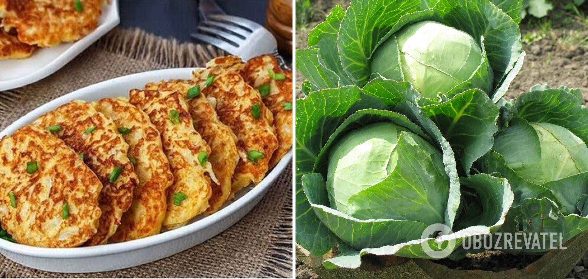 Нежные капустные оладьи – вкусно и просто