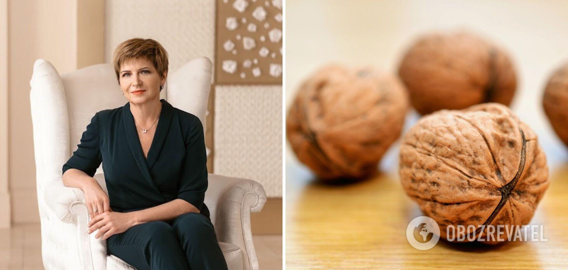 Светлана Фус рассказала о пользе грецких орехов