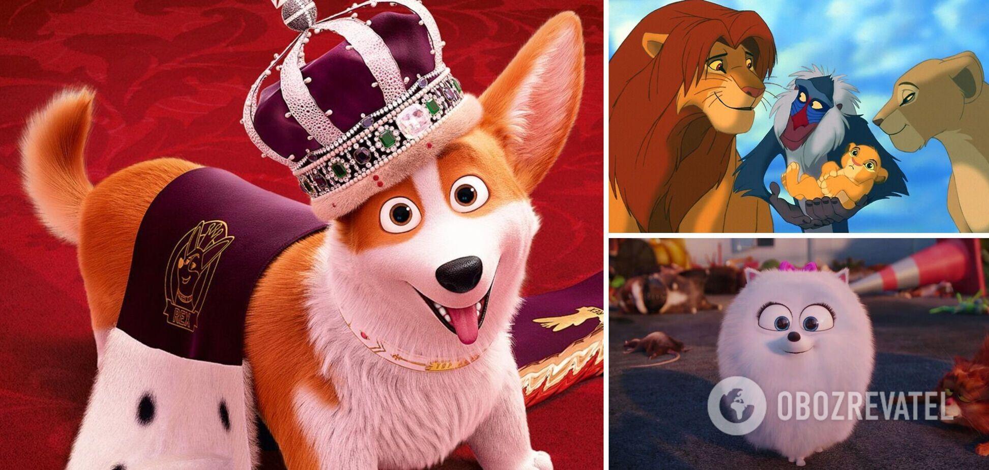 'Королевский корги', 'Король лев', 'Зоотрополис': 7 лучших мультфильмов о животных