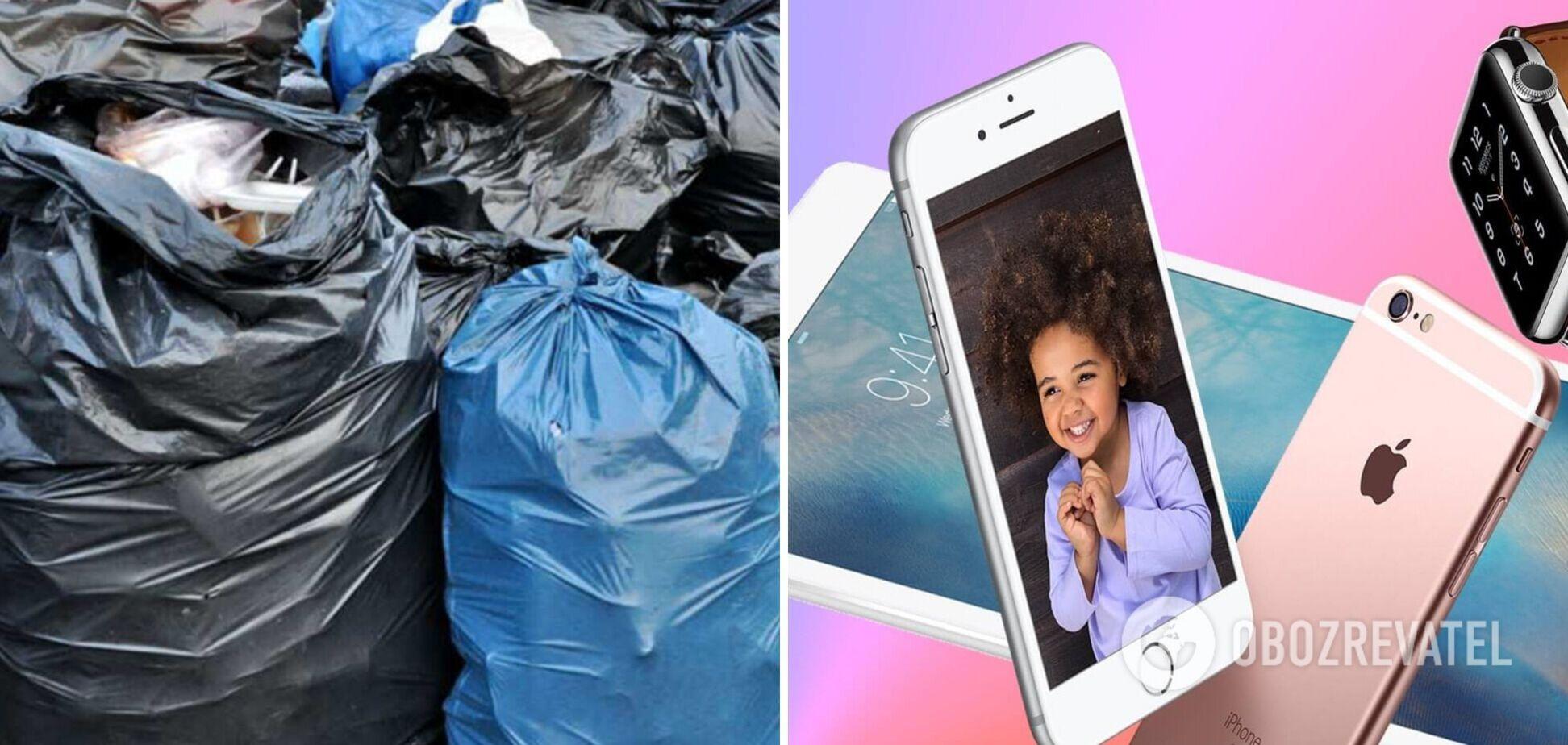Маскировали под мусор: в 'Борисполе' разоблачили схему незаконного ввоза техники Apple. Фото и видео